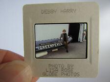 More details for original press photo slide negative - blondie - debbie harry - 1990's - x