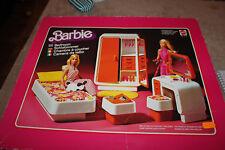 &  RARISSIME BOITE 2150 MATTEL vintage 1977 BARBIE LA CHAMBRE A COUCHER complete