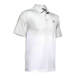 New Under Armour Playoff 2.0 Hole-Out Golf Polo UPF 30+ Lightweight Fabric