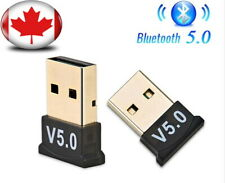 USB Bluetooth 5.0 Adapter Wireless Receiver for Windows Vista/7/8/10 PC Laptop
