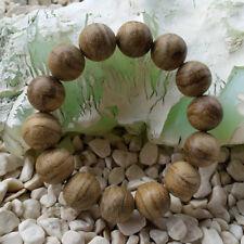 Dazzling 16 MM Papua Aquilaria Agarwood Bracelet 13 Grams Aloeswood 14 Beads #02