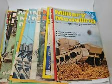 Selection of Military Modelling Magazines 1974/75/76. 16 Editions.