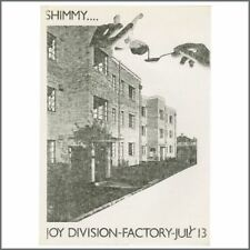 Joy Division 1979 The Factory Manchester Flyer (UK)