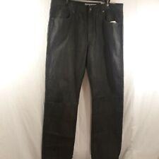 Rich Yung Men's W/36 L/34 Black Jeans