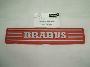 SMART FORTWO 451 BRABUS ENGINE FUEL RAIL COVER RED GENUINE A1320100067