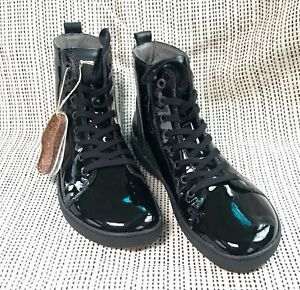 Birkenstock Bartlett Stiefel  HI Sneaker EUR 38 UK 5  Leder Glanz All  Black