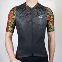 Baisky Cycling- Riding Tops Bike Jersey-Men-Skull Rider (T2340B)