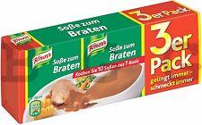 Knorr Germany - sauce for roast - 3 x 1/4 Liter = 0,75 Liter - German Production
