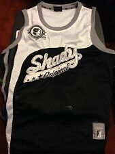 RARE L EMINEM SHADY LIMITED LTD RECORDS LARGE JERSEY SHIRT TANK TOP HOODY BLACK