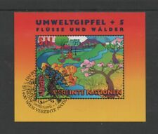 "UN (VIENNA) 1997 ""EARTH SUMMIT + 5"" M/SHEET *VFU/CTO FIRST DAY OF ISSUE*"