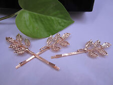 are buying 1 ( One) Only for $1.99 New - Fashion Hairpin - Leaves - You