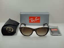 AUTHENTIC RAY-BAN SUNGLASSES RB4227 710/13 TORTOISE/BROWN GRADIENT LENS 55MM