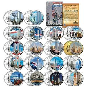 * COMPLETE SET * WTC Anniversary 9/11 US MINT NEW YORK STATE Quarter 18-Coin Set