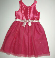 H&M 7-8 Hot Pink Sparkle Princess Summer Spring Dress
