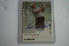 Nick Dougherty 2002 SP Authentic Rookie Autograph #/2999