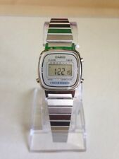 Casio Ladies' Silver Tone Digital Watch. LA670WE.