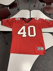 Mike Alstott - Tampa Bay Buccaneers - Starter Jersey Size Large L 48 Excellent