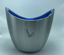 Grey Goose 2 Bottle LED Light Chiller Ice Bucket Cooler Bowl Stainless Steel NWB