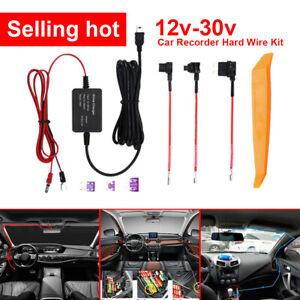 Car Hard Wire Kit DVR Box For Recorder Dash Cam Camera GPS Nextbase Mini USB