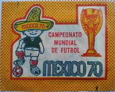 RARE Mexico 70 (1970) World Cup  PANINI Sticker PACKET BUSTINA International