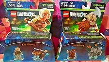 The Lord of The Rings Legolas + Gimli Lego Dimensions New (2)