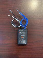 WAC Lighting EN-1260-R-AR Electronic Transformer, 120V - 12V 60 Watts, Black