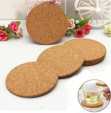 Cork Wood Drink Tea Coffee Silicone Cup Coaster Mat Pad Tableware Accessories