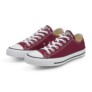 Converse  Chuck Taylor Canvas Low Top M9691 Maroon Fast Shipping