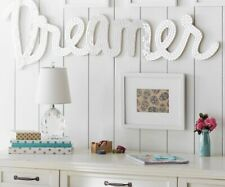 "Pottery Barn Teen Mirrored ""Dreamer"" Sign"