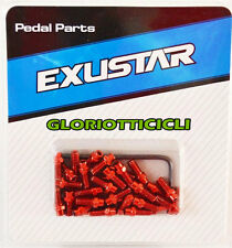 EXUSTAR  kit viti pedale freeride 8mm ( pin )