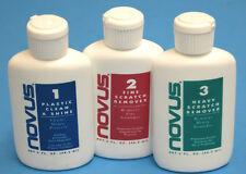 Novus 1 2 3 Scratch Remover Plastic Polish Cleaner / Hobby Use Plastic & Diecast
