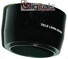 52mm Tele Photo Metal Lens hood Sun Shade Screw-in Mount Telephoto High Quality