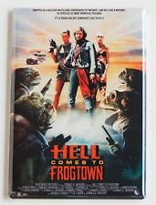 Hell Comes to Frogtown FRIDGE MAGNET (2.5 x 3.5 inches) movie poster roddy piper