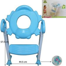 Toddler Kids Potty Training Toilet Step Ladder Safety Baby Child Loo Trainer