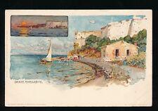 Italy SAINTE MARGUERITE artist Manuel Wielandt c1902 u/b PPC