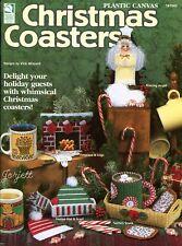 Christmas Coasters ~ 10 Festive Holiday Coaster Sets plastic canvas patterns NEW