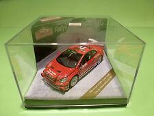 VITESSE 43026 PEUGEOT 307 WRC - MONTE CARLO 2004 - LOIX SMEETS - RED 1:43 - NMIB