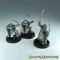 Metal Damrod & X2 Faramir Ranger - LOTR / Warhammer / Lord of the Rings CC193