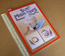 1995 The Sun Moon & Tides Cut-Out Model Book. exquise content. TARQUIN pubs