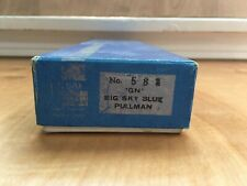 Ho Scale Balboa Brass Great Northern Big Sky Blue Pullman Passenger Car #583
