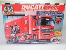 ITALERI 1/24 3815 Ducati Racing Team Truck with Bike Model