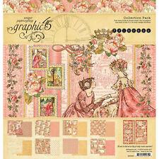 Graphic 45 Princess 12x12 Scrapbook Paper Collection Kit