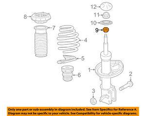 Chevrolet GM OEM 13-15 Spark Front Suspension-Coil Spring 95076179