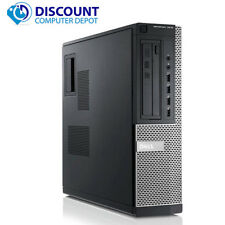 Fast Dell Optiplex 7010 Desktop Computer PC Core i5 8GB 500GB Windows 10 Wifi