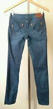 ONLY Jeans Denimize Womens Juniors Skinny Stretch Size 27 (4-6)