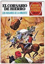 Grandes aventuras juveniles nº 72: CORSARIO DE HIERRO. Los húsares de la muerte.