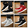 Men's High Top Athletic Sneakers Sports Running Trainers Casual Walking Shoes