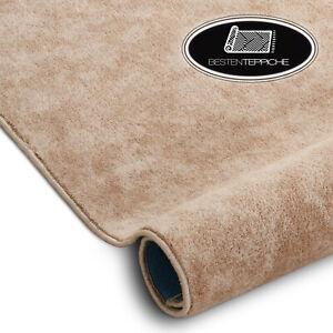 Langlebig Modernen Teppichboden SERENADE beige große Größen! Teppiche nach Maß