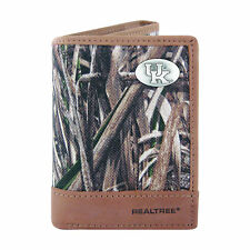 Kentucky Wildcats Trifold Realtree Max-5 Camo & Leather Wallet w/ Concho Zep-Pro
