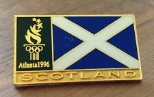 Scotland Flag Atlanta 1996 Olympic Pin
